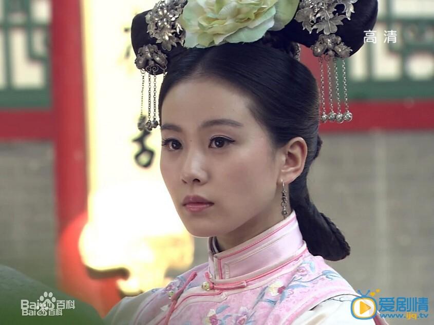 刘诗诗电视剧《步步惊心》剧照 刘诗诗个人资料简介